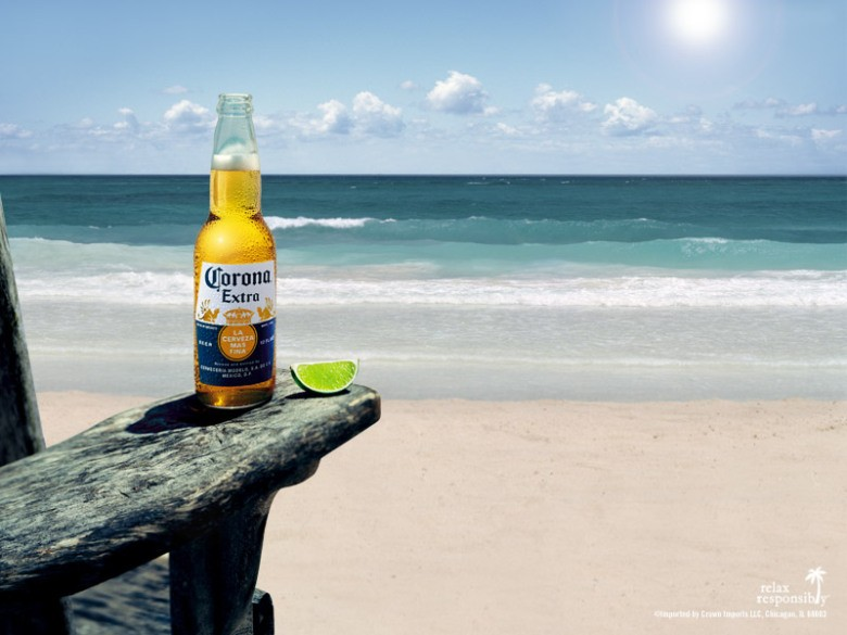 Bia Corona Extra (Mexico) - chai 355ml